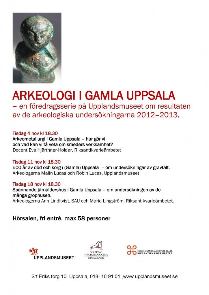 Arkeologi i Gamla Uppsala
