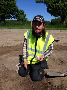 Idag får du chans att höra vad Peter och de andra arkeologerna funnit vid Eds allé.