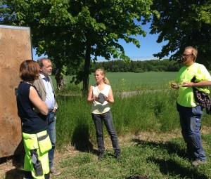 Vi i Väsby intervjuar Frands, Sanna och Ulf.