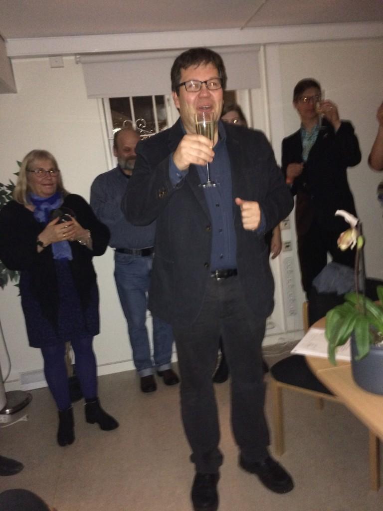 Årets muntra pristagare: Jan Storå