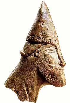 Välfriserad viking från Sigtuna.